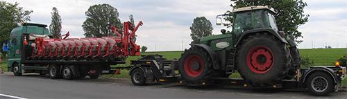 транспортировка тракторов по России